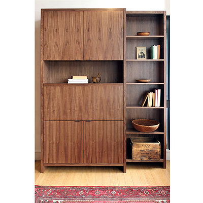 Home Office + Italic Bookshelf - Right