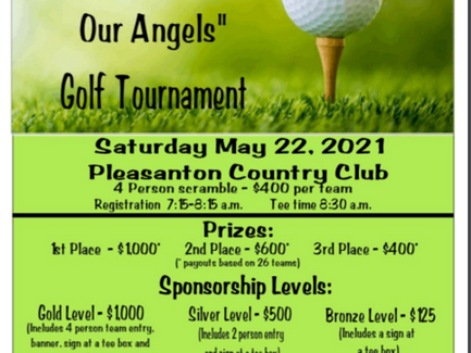 Tee up for our Angels!
