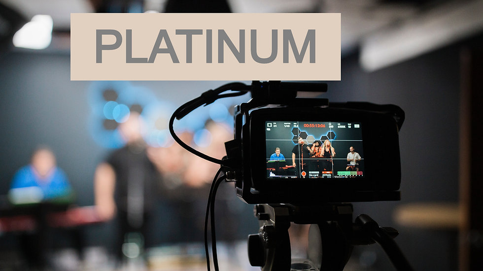 Platinum Livestream Package