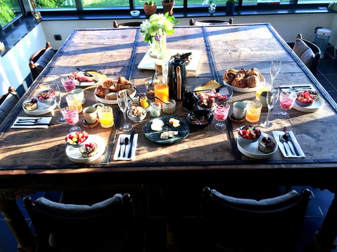 ontbijt voor 4personen