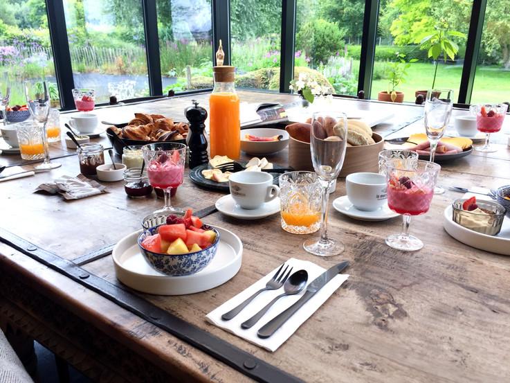 ontbijt voor 5personen