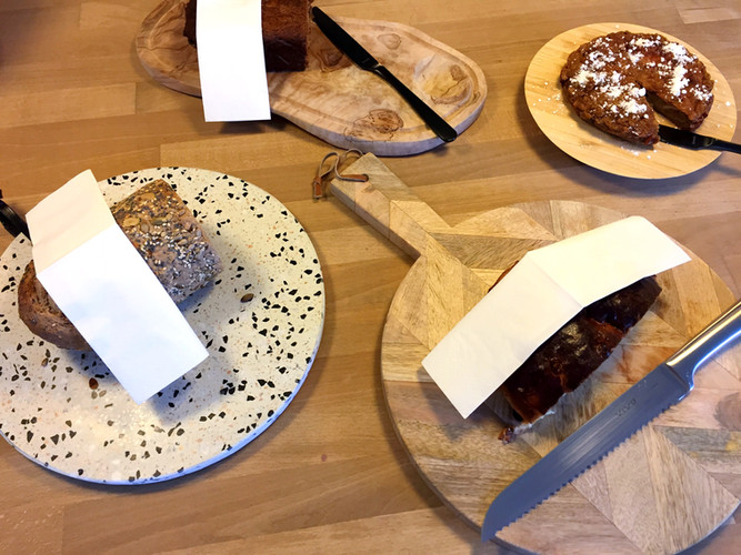 assortiement brood en taart