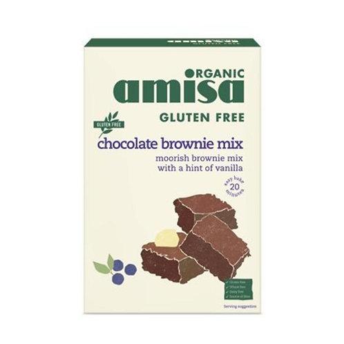 AMISA CHOCOLATE BROWNIE MIX BIOLOGISCH
