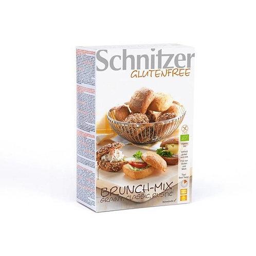 SCHNITZER BRUNCH-MIX GESORTEERDE BROODJES BAKE-OFF