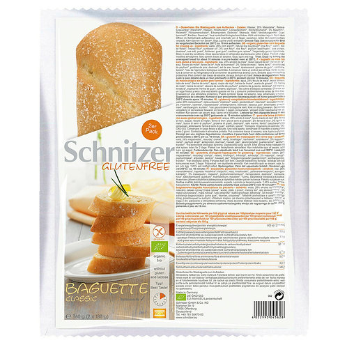 SCHNITZER BAGUETTE CLASSIC BAKE-OFF
