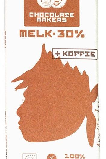 CHOCOLATE MAKERS 30% MELK+KOFFIE