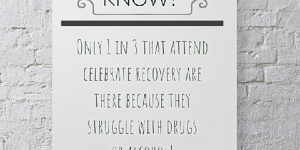 Celebrate Recovery - Leaving a Legacy - January 27, 2021