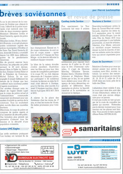 Article Le Journal de Savièse