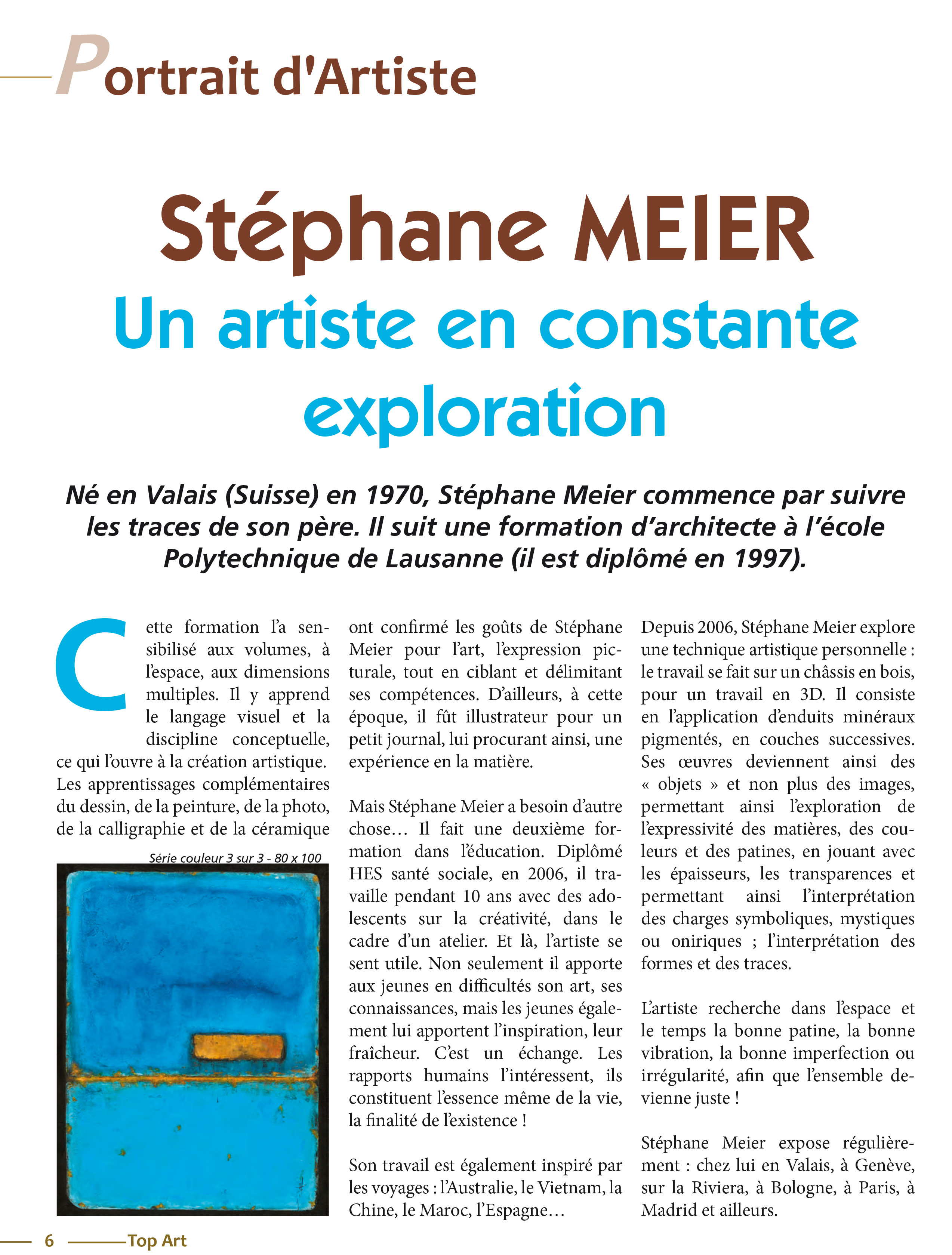 Article Revue Top Art