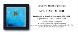 Expo Galerie Thuillier, Paris
