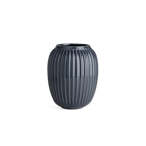 Designer-Vase - anthrazit