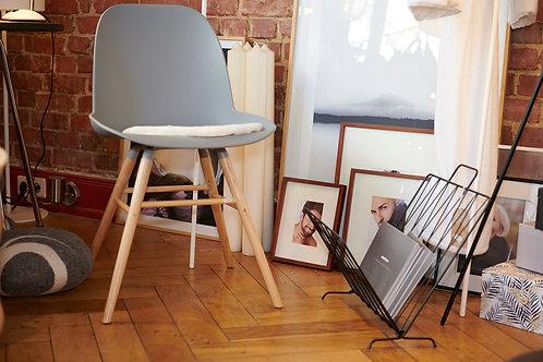 Stuhl - grau oder weiß