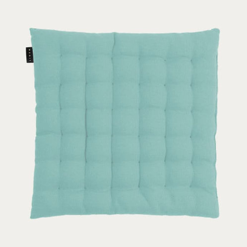 Sitzkissen aus Baumwolle - türkis