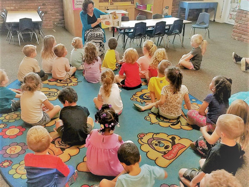 CAC Staff Reads to Kids for Imagination Library Week