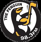 Logo for The Penguin Radio station 98.3