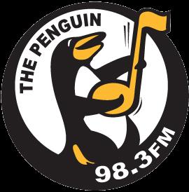 Logo for the Penguin Radio 98.3