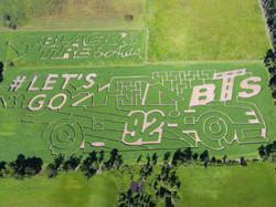 2016 Aerial Shot of Maze