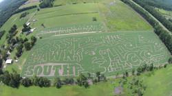2015 Aerial Shot of Maze