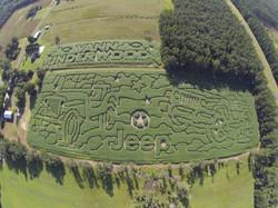 2014 Aerial Shot of Maze