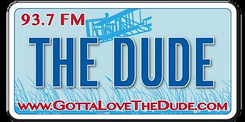 Logo for The Dude Radio