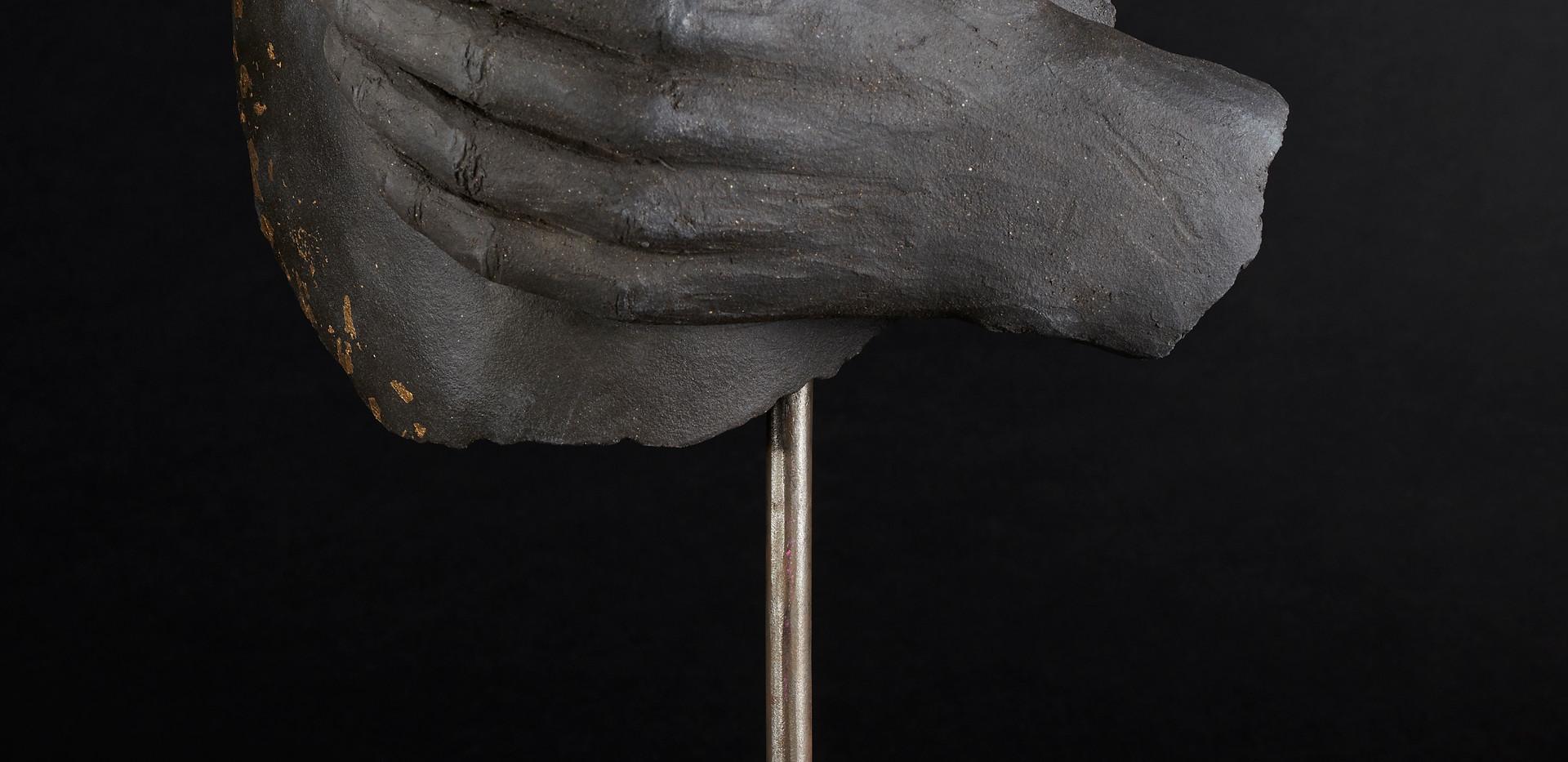 Le féminin  haut 42 cm socle 29 cm / 20 cm