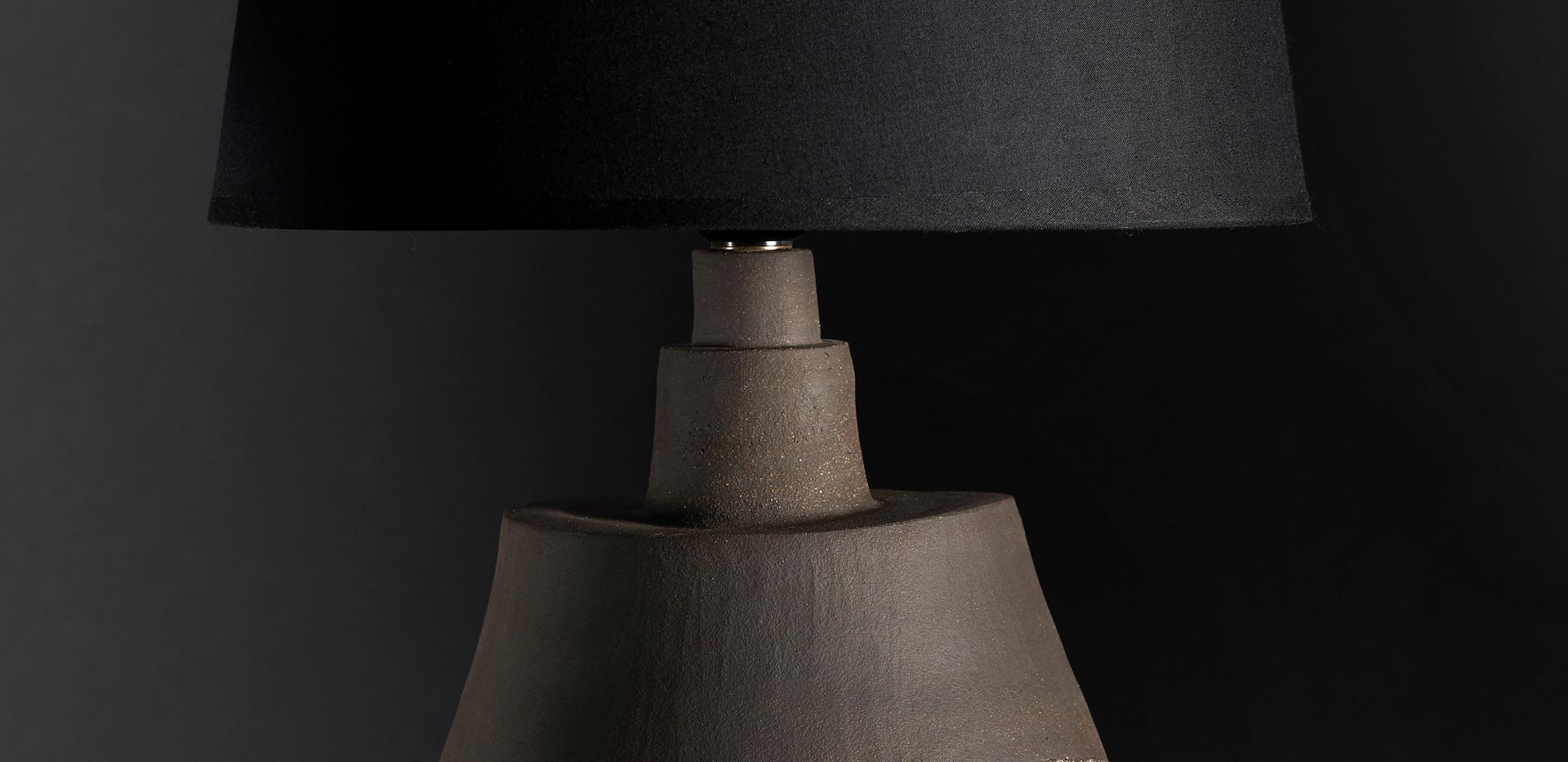 Lampe  diam 23 cm / haut 46 cm