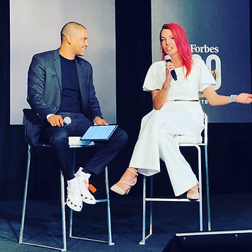 Sasha Rowe Forbes Under 30 Summit 2019