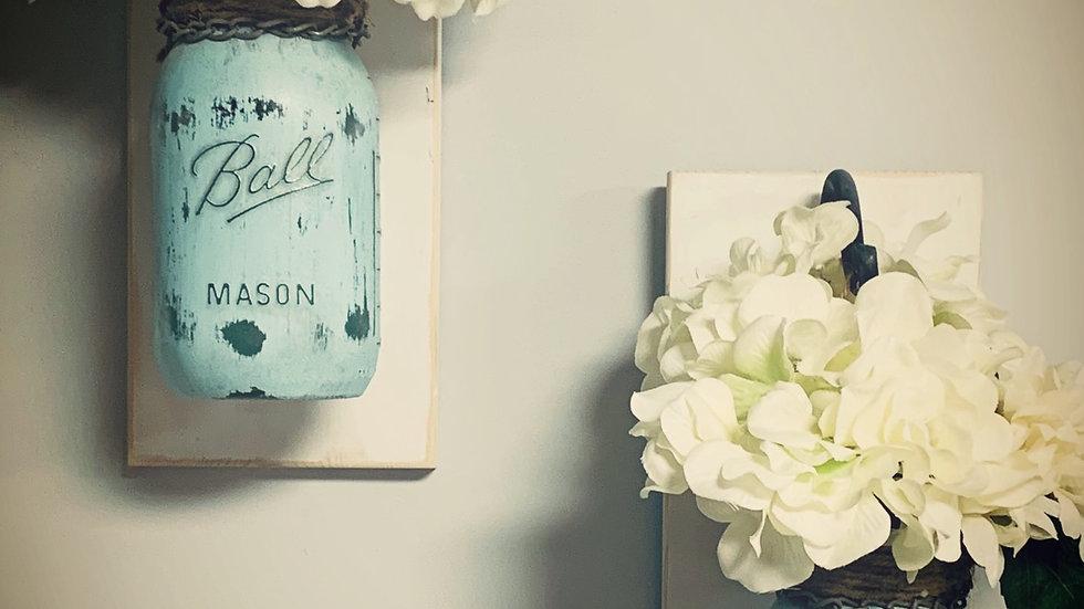 Mason Jar Wall Sconces, Wall Decor, Mason Jar, Home Decor, Wall Art