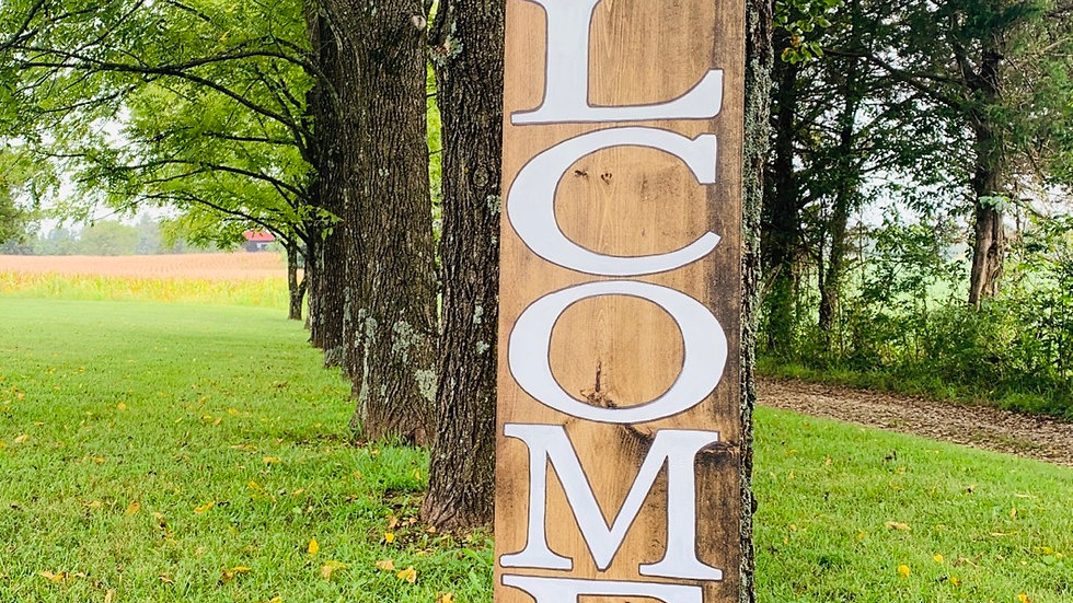 Welcome-ish (depends on who you are)/Porch Sign/Outdoor Sign
