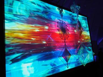 Moving Light Art at e-Luminate, February 2015