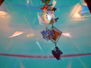 Moving Light Art at WOMAD July 2014