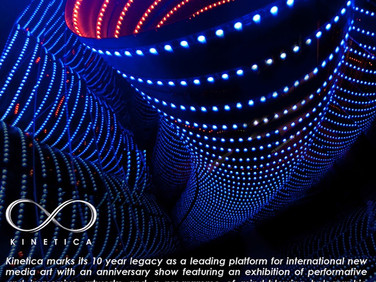 17th-19th Feb Transforming from Stardust in Holographic form and workshop at KINETICA exhibition