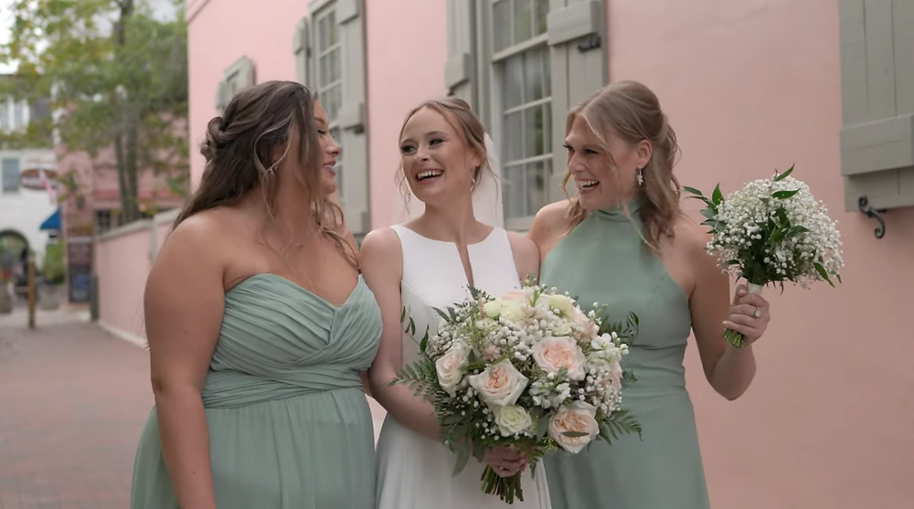 St Augustine Bridal Party