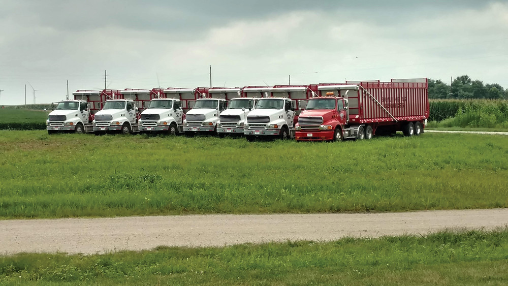 Semi-tractor trucks
