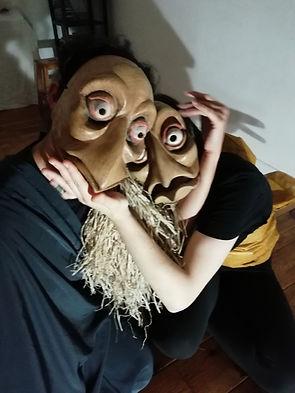 Les inséparables--Deux masques d'Alaric