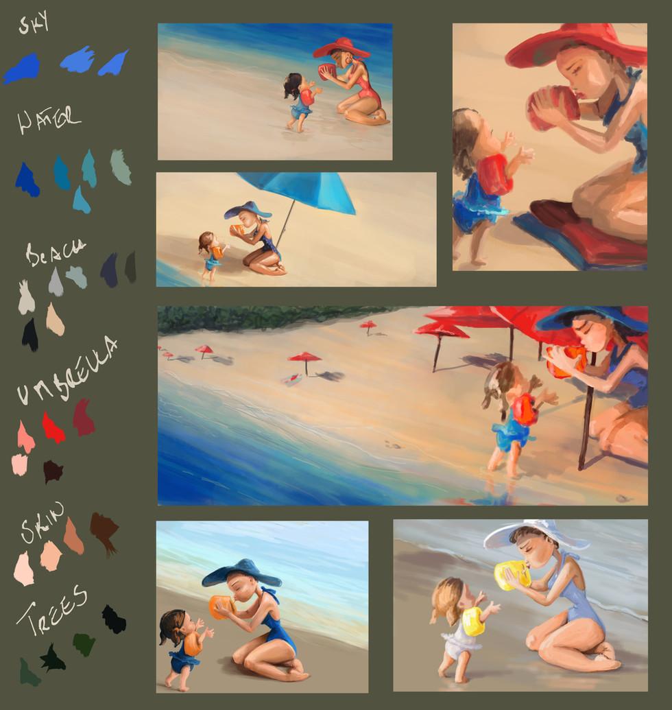Painting studies