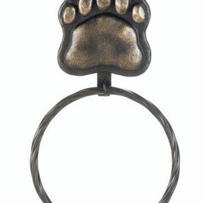 ron Bear Paw Towel Ring