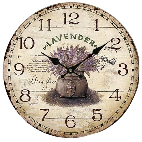 Best Vintage Antique Style 34cm Wall Clock Home Bedroom Kitchen Quartz