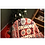 Thumbnail: American Country style 100% Cotton Sofa red geometric throw Rustic blanket Home