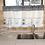 Thumbnail: XYZLS Modern Elegant Minimalist Blinds Kitchen Curtain Cafe Half-curtain Short