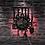 Thumbnail: Cutlery Farmhouse Kitchen Art Sign Wall Clock Dinning Room Restaurant Cutlery