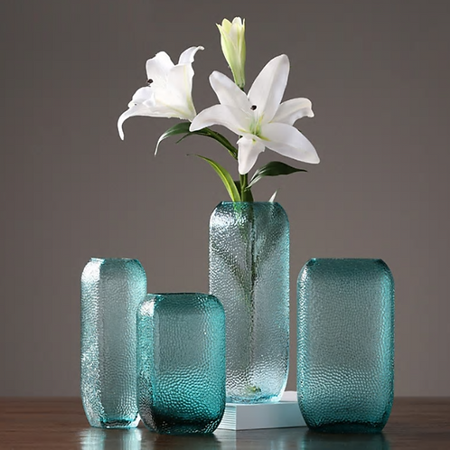 Stylish and simple American Transparent Vase Creative Living Room Glass Hydropon