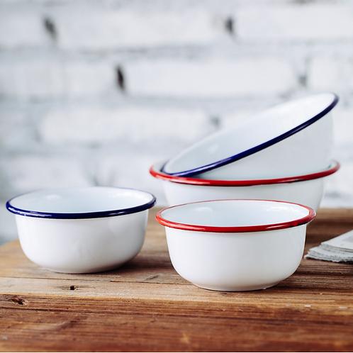 Porcelain Enameled Bowl