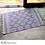 Thumbnail: RAYUAN Nordic Style Woven Cotton Rug Carpet Livingroom Bedroom Bedside Tatami
