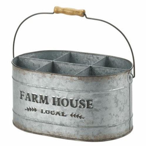 Galvanized Metal Wine Bucket