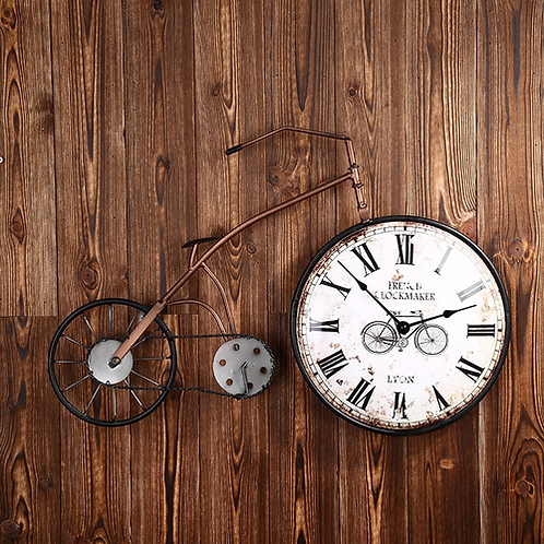 New Solid Wood Wall Clock Saat Relogio de parede Round Clock Reloj Horloge