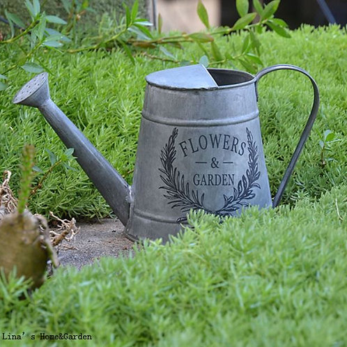hand crafted mini galvanized vintage retroimi metal watering can