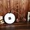 Thumbnail: New Solid Wood Wall Clock Saat Relogio de parede Round Clock Reloj Horloge