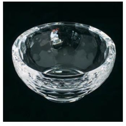 nice round crystal bowl glass dinner set glass fruit bowl set
