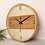 Thumbnail: 16 Inch Large Modern Wall Clock Wooden Kitchens Gift Ideas Wall Watches Bathroom